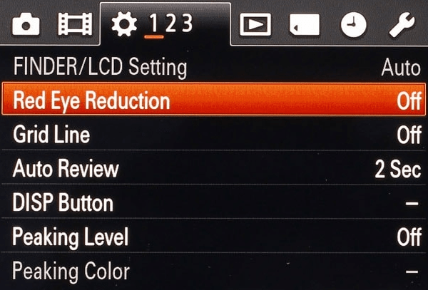 Red-eye Reduction